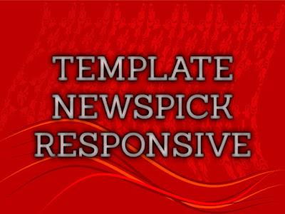 Template NewsPick Terbaru 2017 Seo Responsive Download Gratis