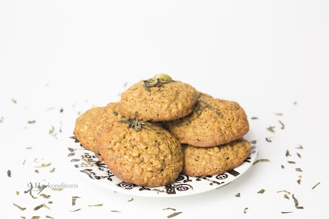 Chai Tea Oat Cookies