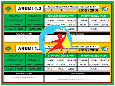 Aplikasi Raport Kurikulum 2013 SD/Madrasah SMP/MTs SMA/MA Update 2017/2018