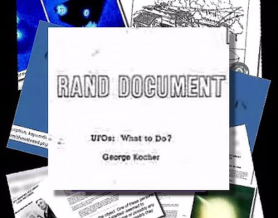 YOUR NEED TO KNOW | RAND Corporation's UFO Document – UFO's: What To Do? | VIDEO