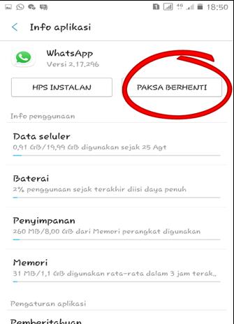 Cara Menonaktifkan Whatsapp Untuk Sementara  Cara Menonaktifkan Whatsapp Untuk Sementara 100% Berhasil