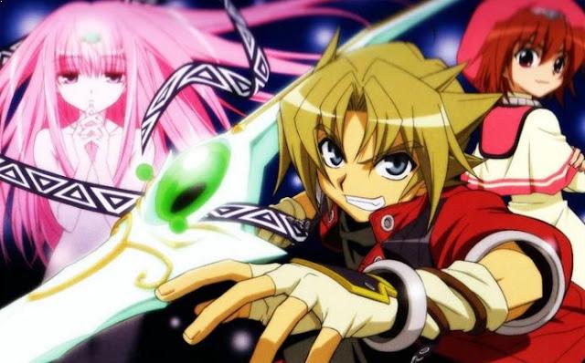 Erementar Gerad - Anime Tokoh Utama Menggunakan Pedang