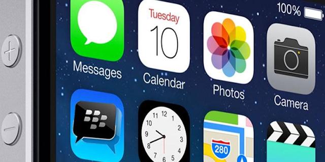 Cara Mute Atau Menonaktfikan Notifikasi Chat Obrolan Group BBM di iPhone