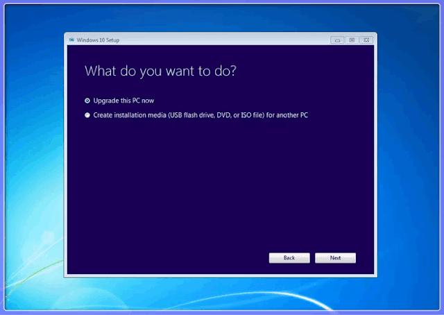 إليك كيفية الترقية من Windows 7 إلى Windows 10: