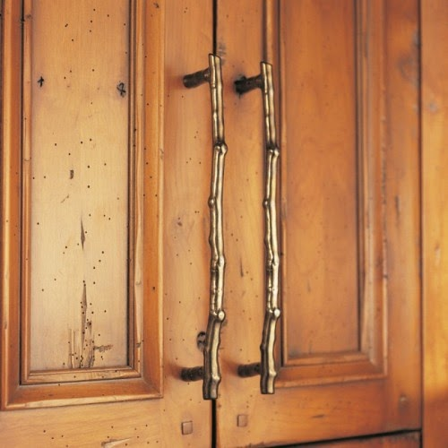 Rustic Hardware For Kitchen Cabinets: Eye For Design: Elegant Branch Decor For The Non-Rustic