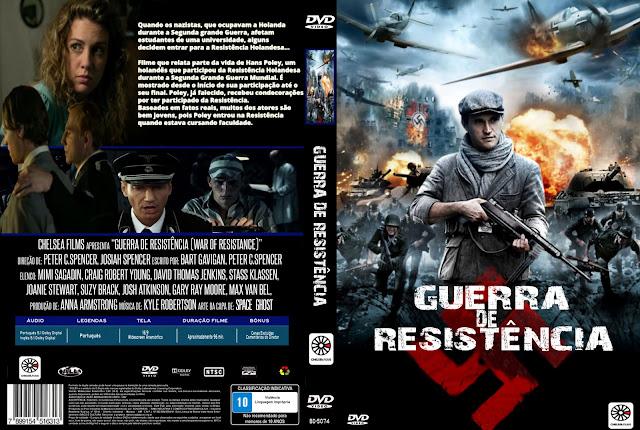 Capa DVD Guerra De Resistência