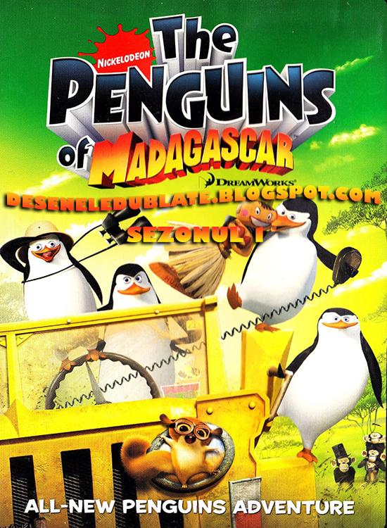 Pinguinii din Madagascar Sezonul 1 Dublat în Română