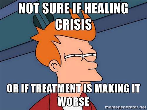 healing crisis Shaklee
