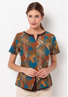 Koleksi Model Baju Batik Atasan