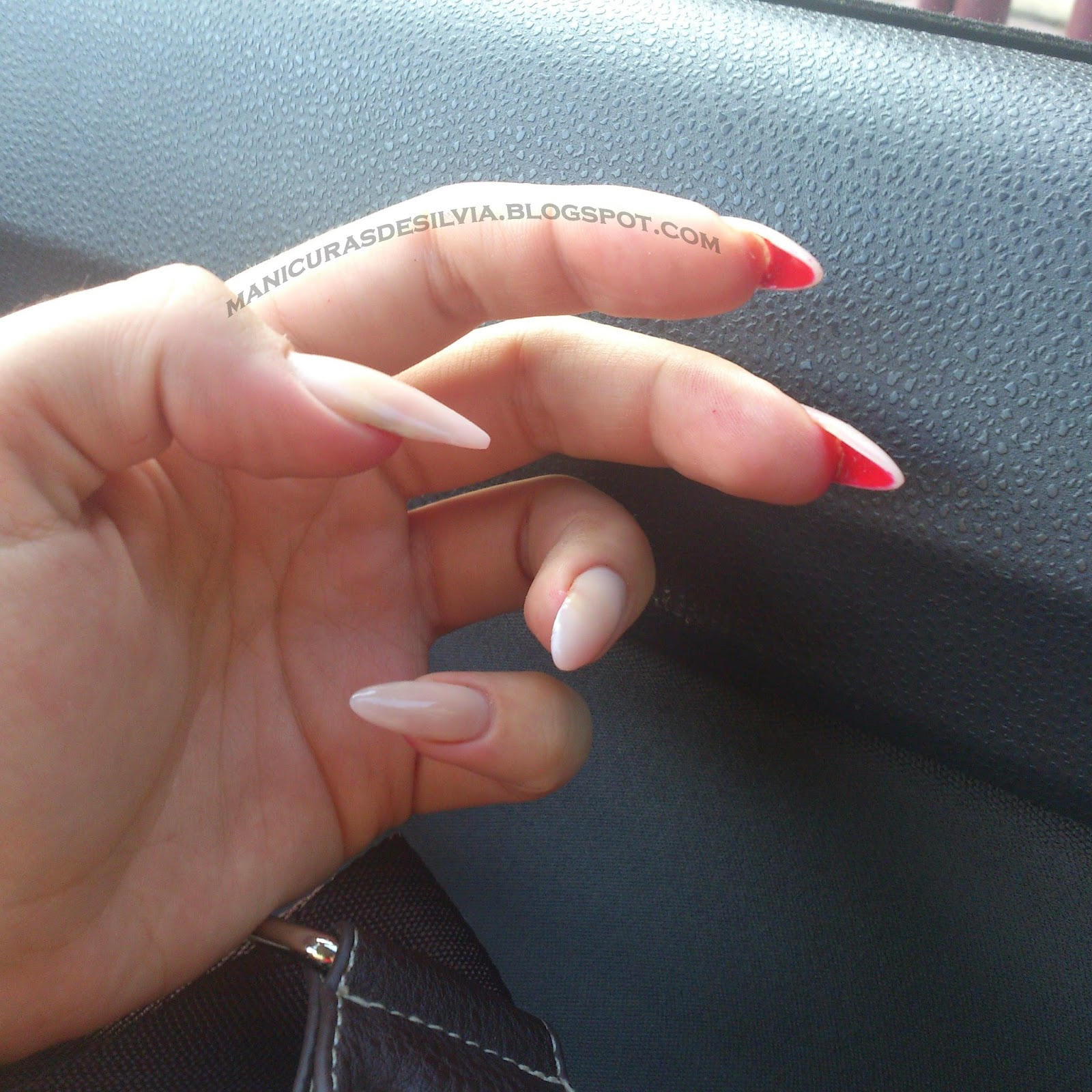 Manicuras De Silvia Unas De Malefica Maleficent Nails