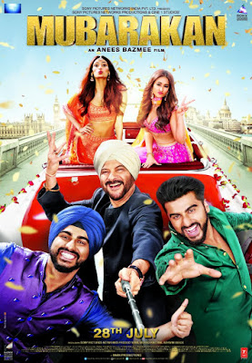 Mubarakan 2017 Hindi WEBRip 1.4GB x264