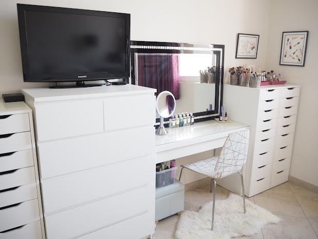 Make Storage Vanity Bedroom Tour Expat Addict
