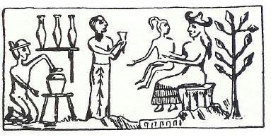 creazione-uomo-babilonia-bassorilievo