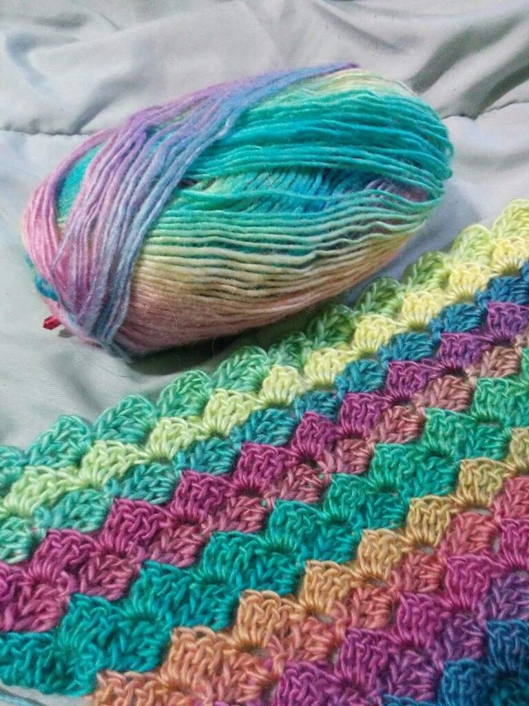 Corner to corner crochet pattern C2C
