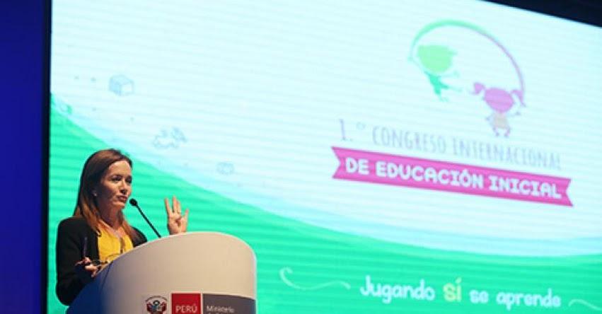 MINEDU: Ministra de Educación inaugura I Congreso Internacional de Educación Inicial - www.minedu.gob.pe
