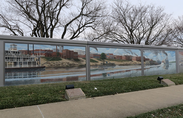 Paducah - Murals on flood walls