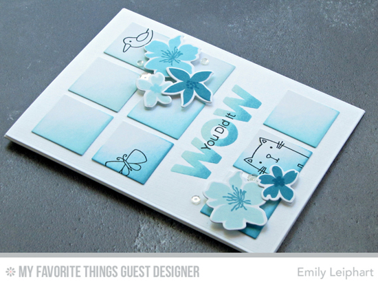Handmade card by Emily Leiphart featuring products from My Favorite Things #mftstamps