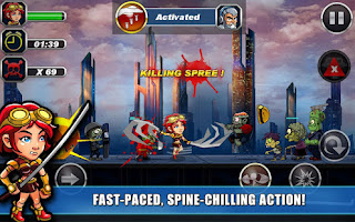 Aplikasi Android Game Aksi Zombie