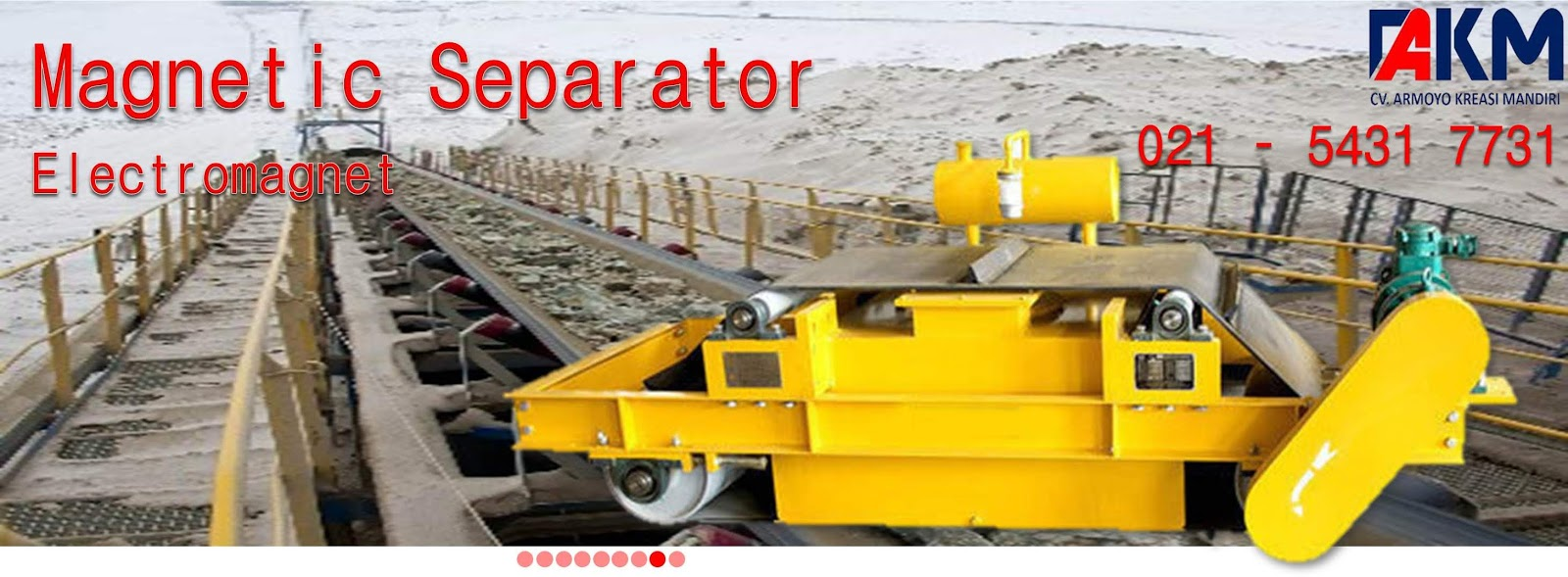 Electromagnet separator
