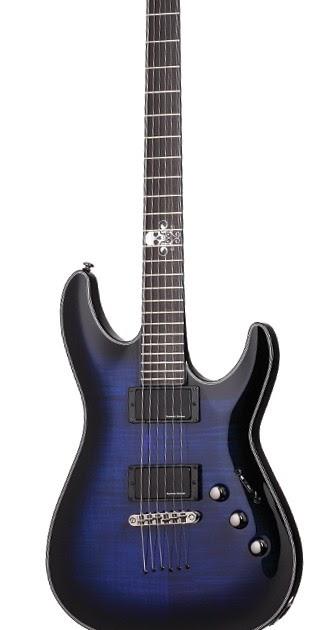 blast custom shop schecter blackjack sls c 1 custom electric guitar. Black Bedroom Furniture Sets. Home Design Ideas