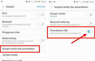 Cara Penambatan USB HP Samsung ke Laptop/PC