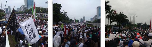 DPR  Temui Massa Aksi 212, Orator Serukan Penjarakan Ahok
