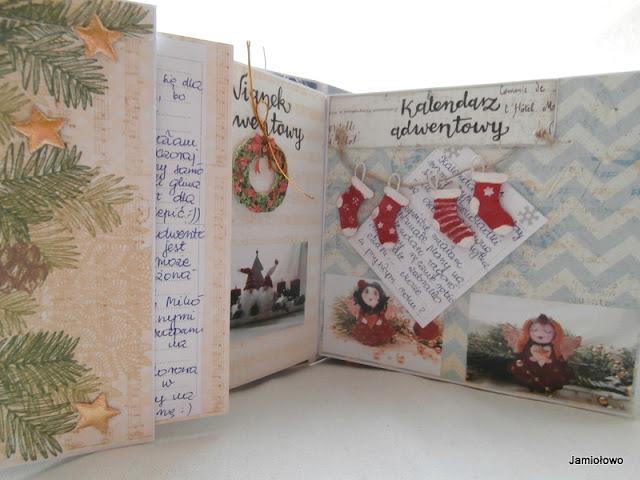 kalendarz adwentowy na początek grudnia