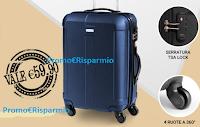 Logo Acquista i prodotti scontati del 40% e in regalo subito un trolley del valore di circa 60€
