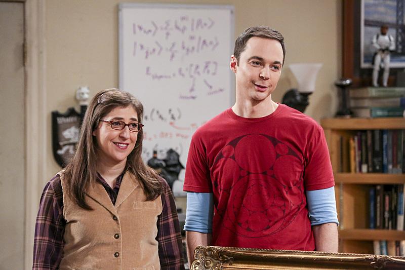 Amy y Sheldon son tan cuquis con su comportamiento asocial