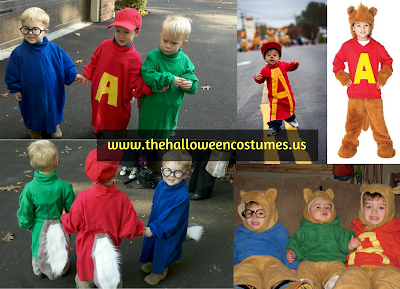 Alvin and the Chipmunks Halloween Costume for toddlers 2016