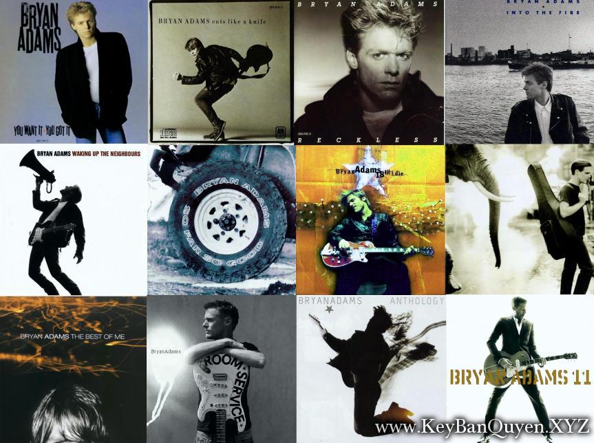 Tổng hợp Video nhạc HD của lãng từ Bryan Adams