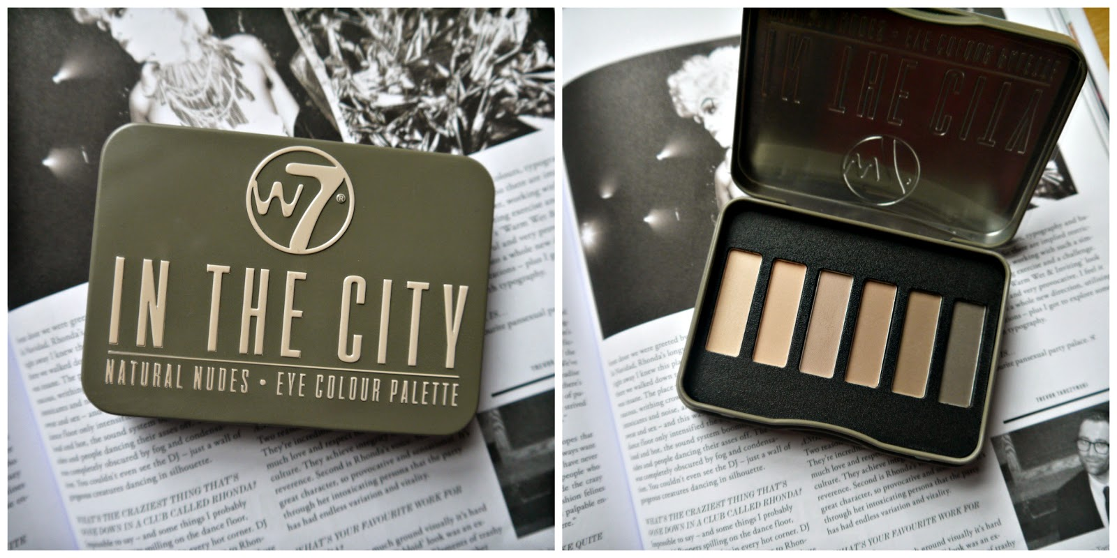 in the city W7 paleta clon naked 2 basics urban dekay