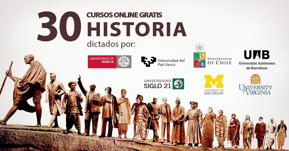 30 cursos universitarios gratis de historia oye juanjo - Cursos universitarios madrid ...