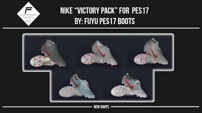 PES 2017 Nike Victory Pack 2019 by FuyuPES17 Boots