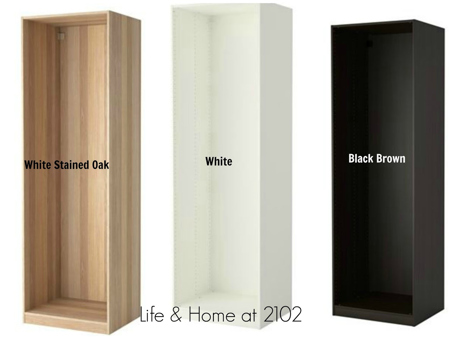 These Are The 3 Available Finishes From IKEA