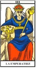 La Emperatriz- Arcano III- Tarot de Marsell