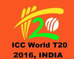 ICC Twenty20 World Cup 2016 live cricket matches broadcasting TV channels list worldwide.
