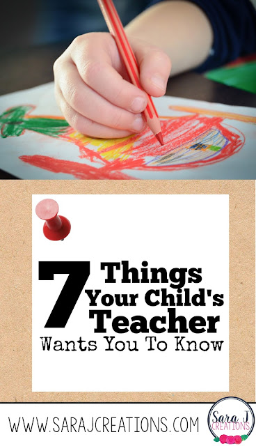 Have you ever wanted to tell the parents in your class what is on your heart and what will help your relationship and their child the most?  Here are 7 things this teacher has on her heart.