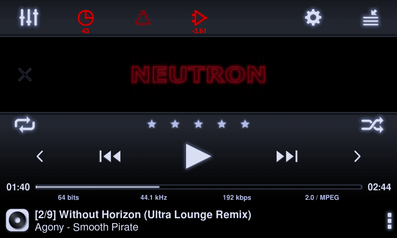 Neutron music player apk v1 85 1