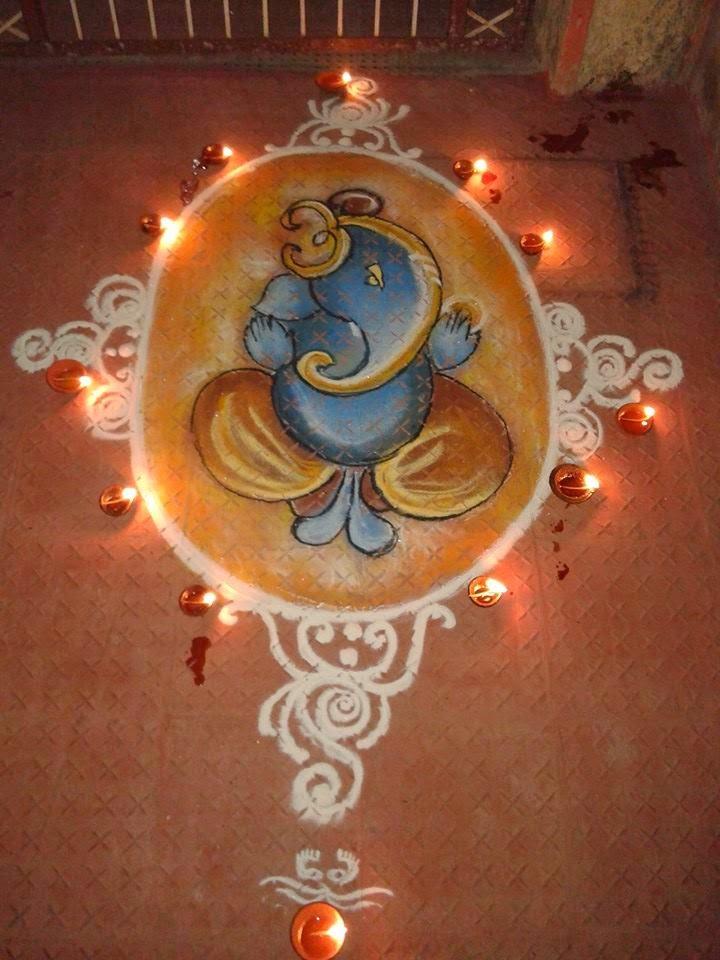 ganesha images for rangoli - photo #33