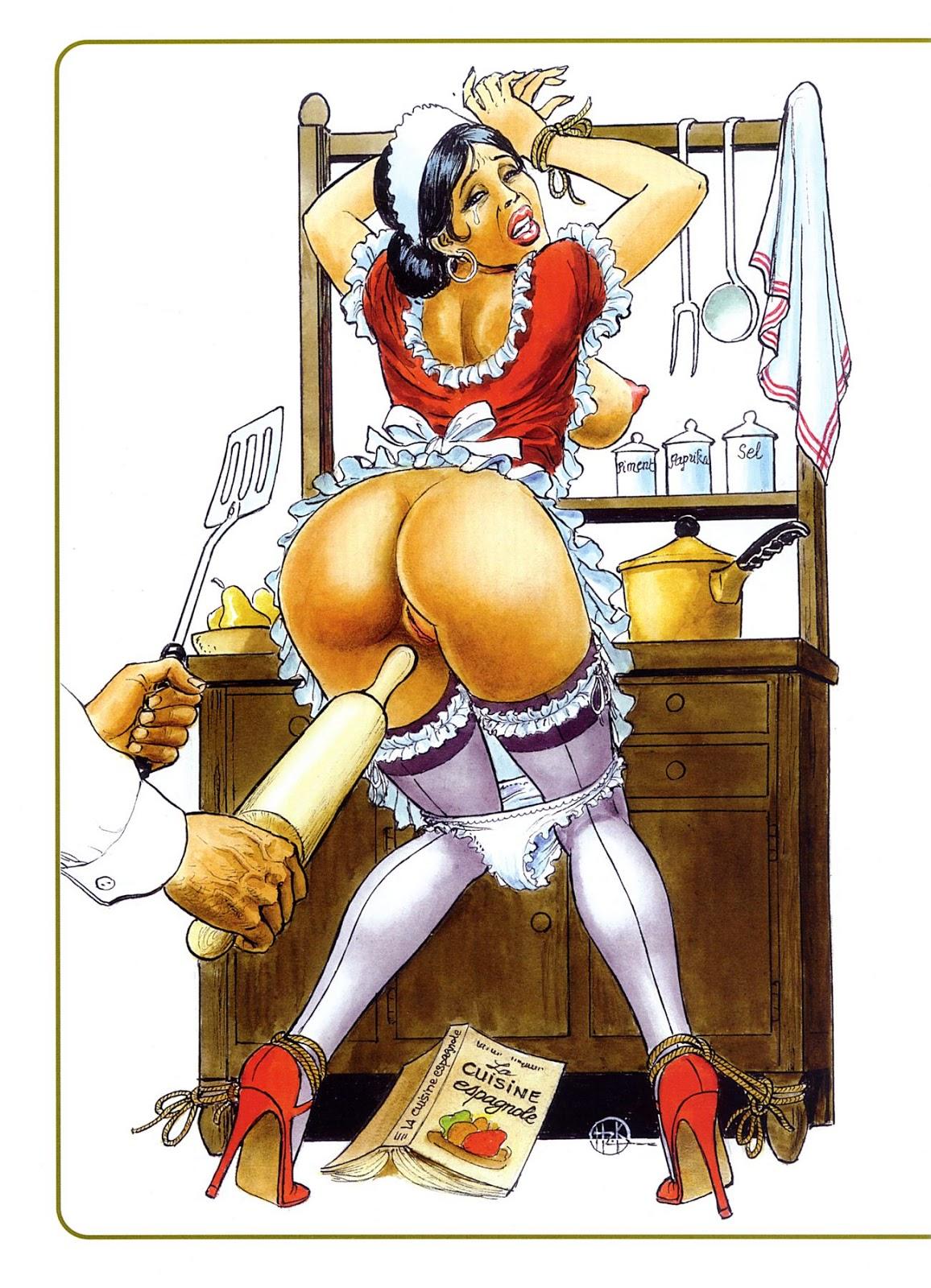 Порно рисунки садо очень полезная