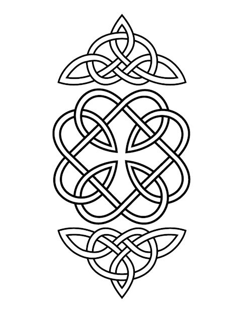 Celtic Knot Would Be Nice Design On Belt Or Dog Collar