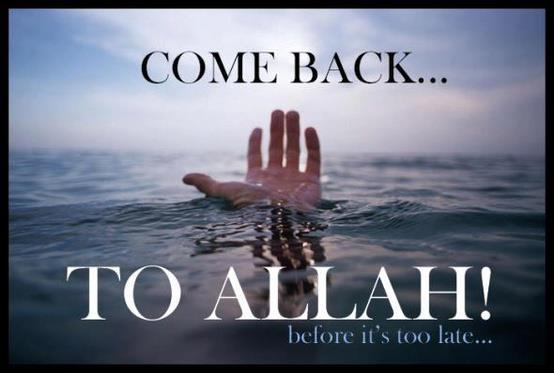 Come Back to Allah - Religions Quotes