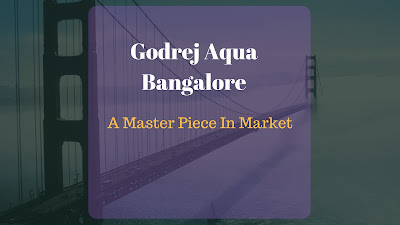 Upcoming real estate project called Godrej Aqua