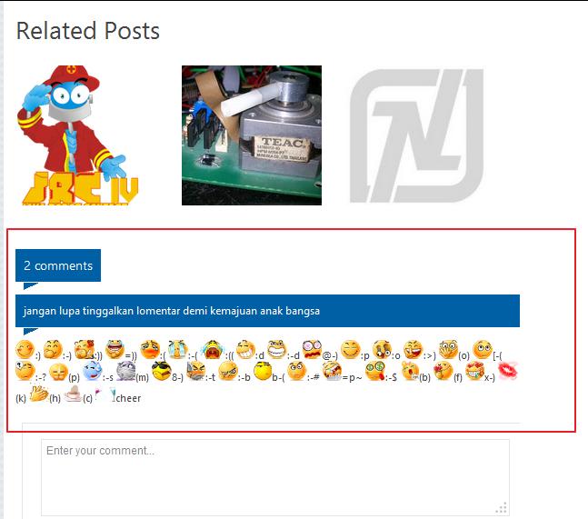 Menonaktifkan google coment di blogspot