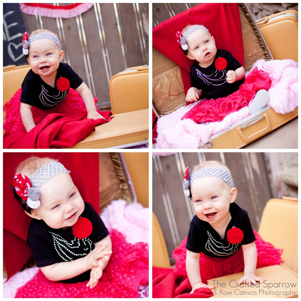 Valentines Day Faux Pearl Baby Onesie Tutorial The