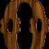 Abecedario hecho en Madera Estilo Cowboy. Alphabet made in Cowboy Style Wood.