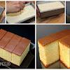 Resep Castella Cake Khas Jepang. Tampil Mewah Dengan Bahan Sederhana
