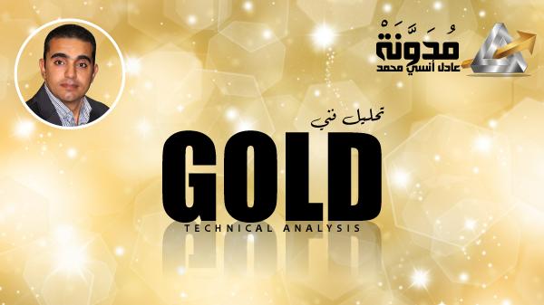 تقرير عن تحليل فني للذهب بعد وصوله لمستوى 1250 دولار للأونصة، ديسمبر 2018.