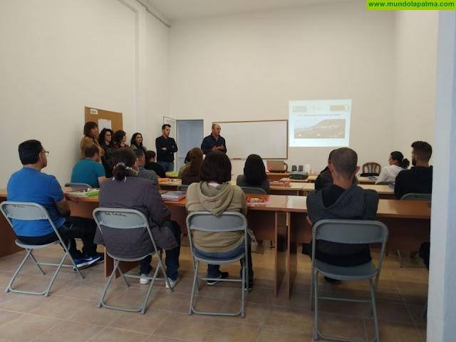 Comienza el programa de formación en alternancia con el empleo ¨Puntallana Construye en Verde¨